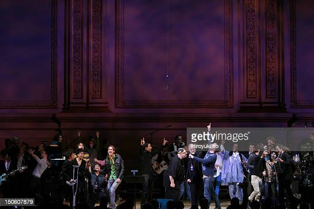 'The Music of the Who' at Carnegie Hall on Tuesday night March 2 2010This imageGrand Finale All guests gathered at the end to perform 'Won't Get...