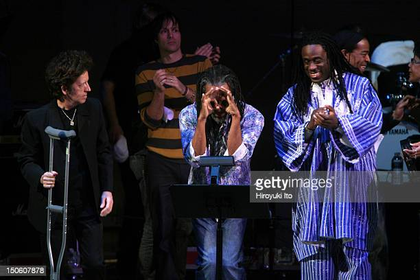 'The Music of the Who' at Carnegie Hall on Tuesday night March 2 2010This imageFrom left Willie Nile Bobby McFerrin and Will Callhoun performing...