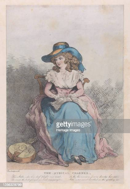The Musical Charmer, circa 1793. Artist Unknown.