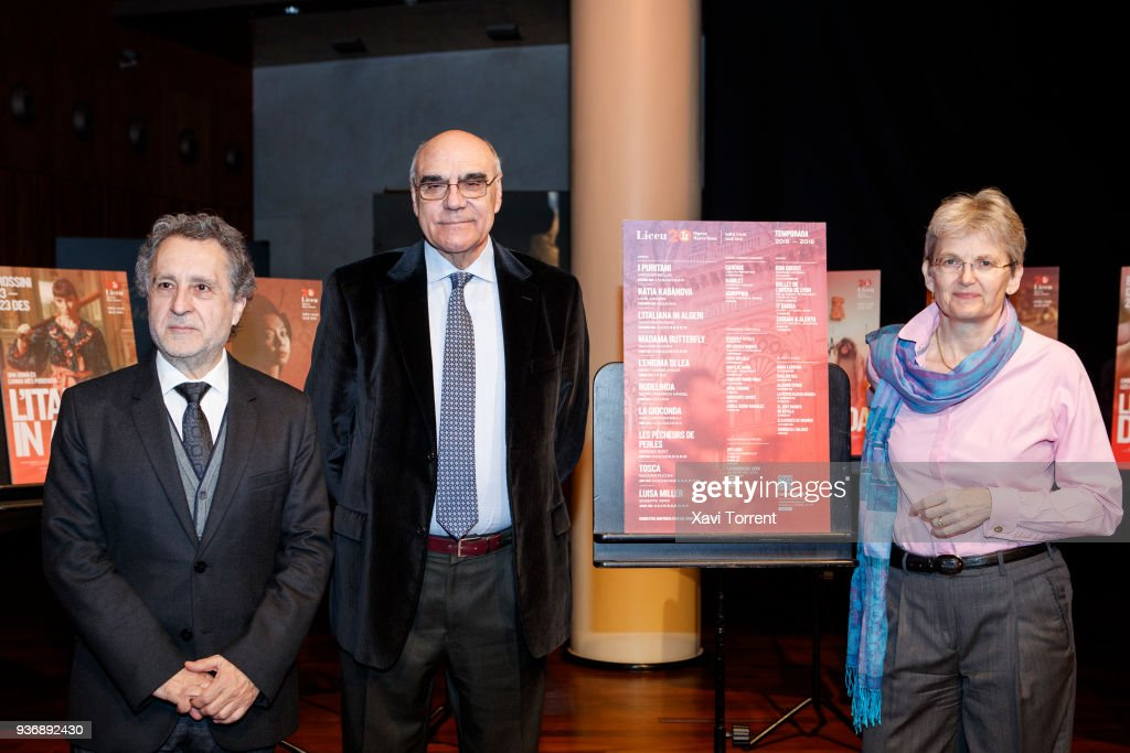 Gran Teatre del Liceu - New Season Presentation