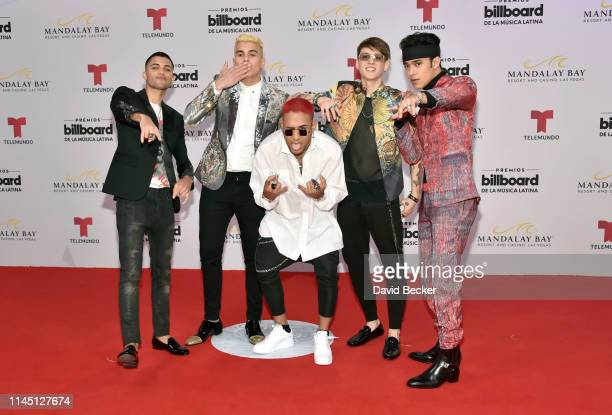 The musical group CNCO attends the 2019 Billboard Latin Music Awards at the Mandalay Bay Events Center on April 25 2019 in Las Vegas Nevada