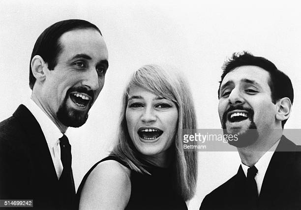The musical group Peter Paul and Mary in 1963