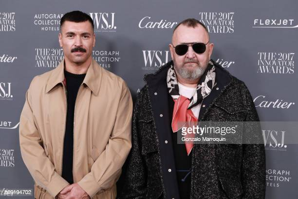 The Musical performers of the evening during the WSJ Magazine 2017 Innovator Awards at Museum of Modern Art on November 1 2017 in New York City
