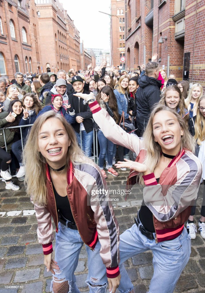Social media stars lisa and lena pictures getty images the musical and social media stars lena l and lisa m4hsunfo