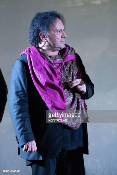 The musician Enzo Avitabile at the presentation of the drama 'Il vizio della speranza' directed by Edoardo De Angelis at the Duel Village in Caserta...