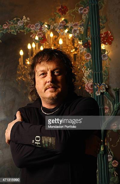 The musician Zucchero posing for a photo shooting Wien Austria 15th June 2004