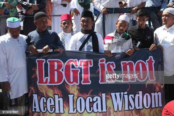 The Muslim community of Aceh and 147 Islamic mass organizations are striving to defend the Islamic Shari'a namely the peaceful protest against LGBT...