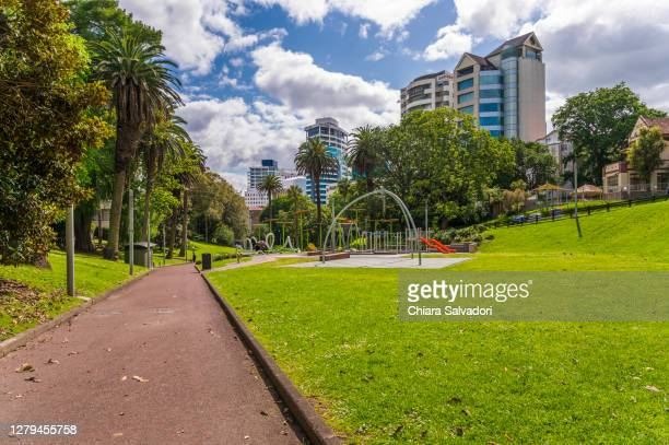 the myers park, auckland - auckland stock pictures, royalty-free photos & images
