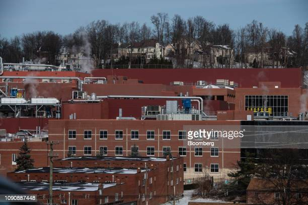 The Mylan NV facility stands in Morgantown West Virginia US on Tuesday Jan 22 2019 The day before Donald Trump was elected president three federal...