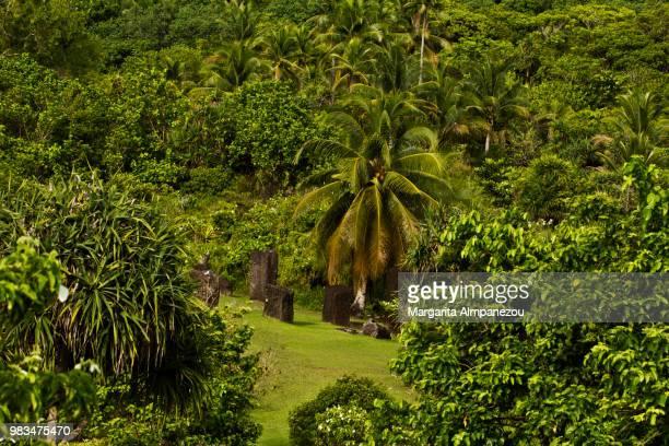 The mysterious Badrulchau Stone Monoliths in Palau Island