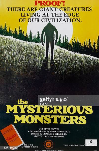 The Mysterious Monsters poster poster art 1976