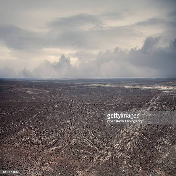 the mysterious nazca lines - nazca lines stock pictures, royalty-free photos & images