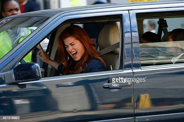 LAURA 'The Mystery of the Art Ace' Episode 107 Pictured Debra Messing as Laura Diamond
