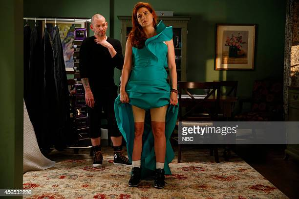 LAURA The Mystery of the Red Runway Episode 104 Pictured Debra Messing as Laura Diamond