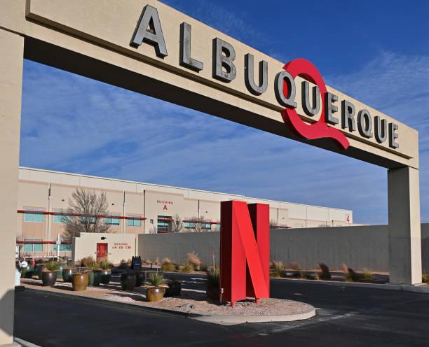 NM: General Exterior Views Of Netflix ABQ Studios