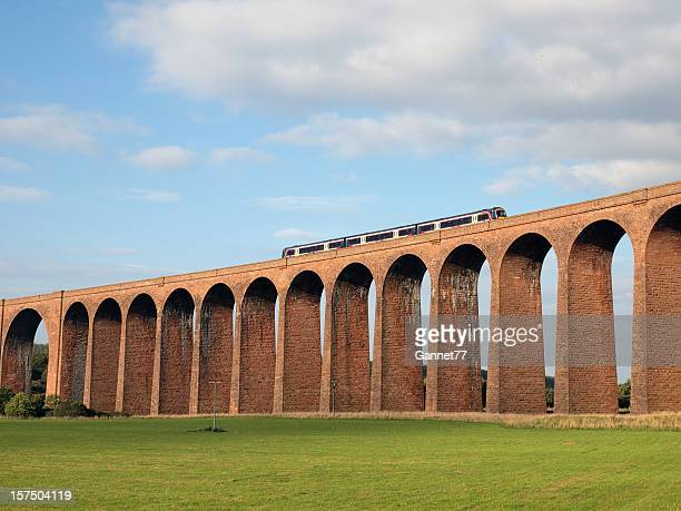 the nairn viaduct, scotland - inverness scotland stock pictures, royalty-free photos & images