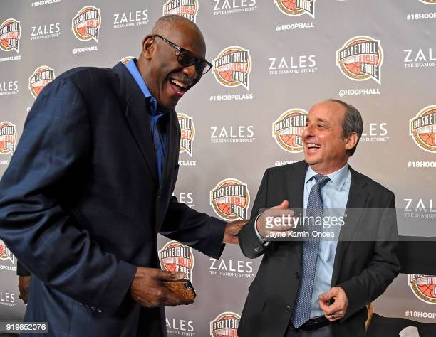 The Naismith Memorial Basketball Hall of Fame announced its thirteen finalists for the Class of 2018 Election during a press conference at Staples...