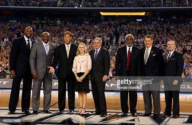 The Naismith Memorial Basketball Hall of Fame class of 2014 Alonzo Mourning Mitch Richmond Sarunas Marciulionis Cathy Rush Gary Williams Nolan...