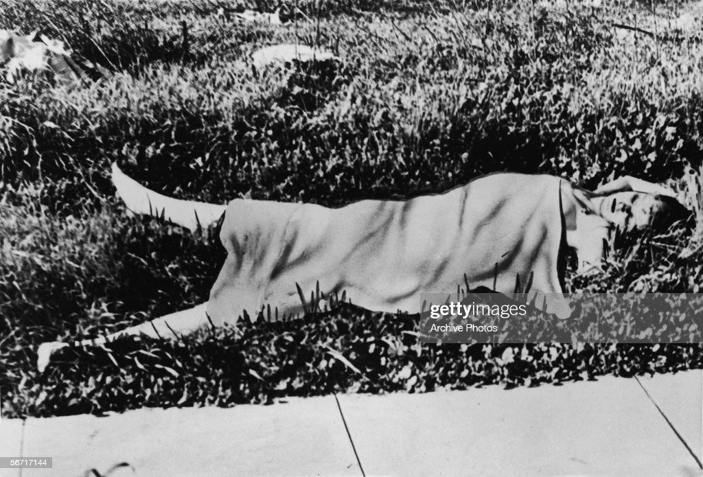 Black Dahlia Corpse : Nachrichtenfoto