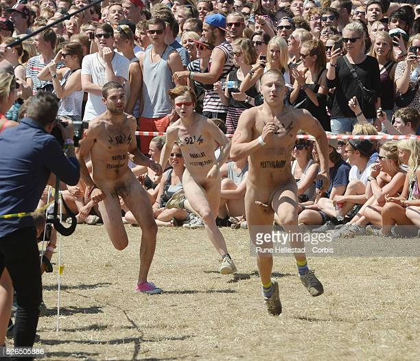 The Naked Race at the Roskilde Festival
