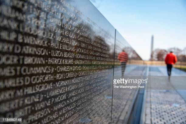 The name of Walter Cichon a legendary New Jersey shore rocker who inspired Bruce Sprinsgsteen can be found on the Vietnam Veterans Memorial in...