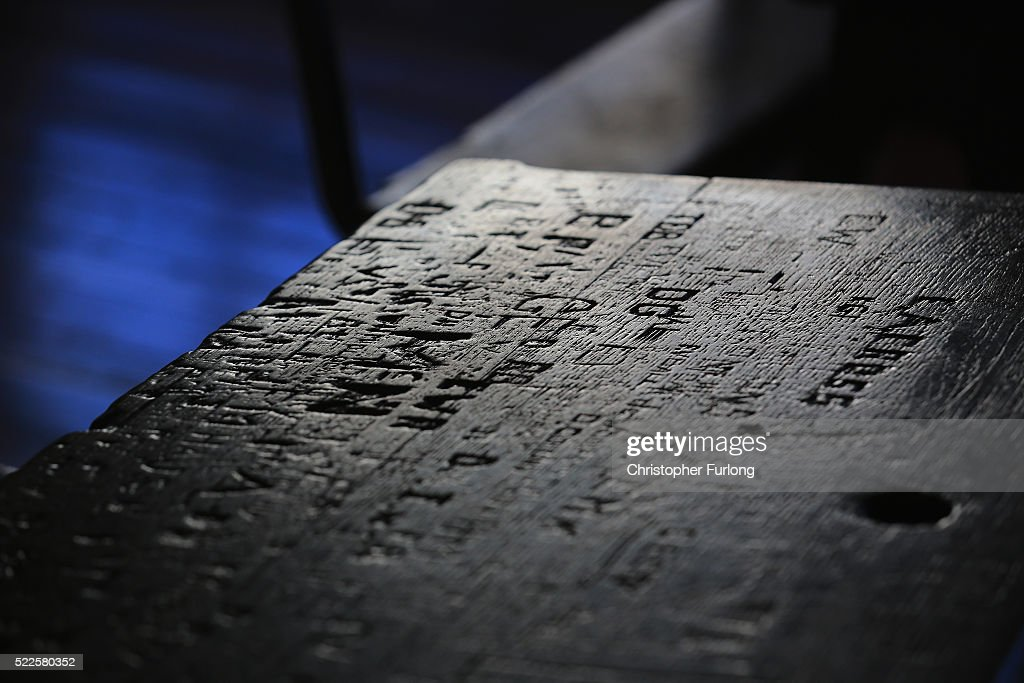 Shakespeare's Schoolroom Opens To The Public : News Photo