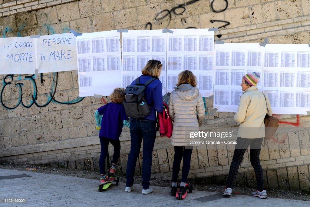 Italian Daily Politics 2019 : News Photo