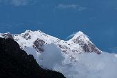 The Namjagbrawa peak (7782m) in tibet