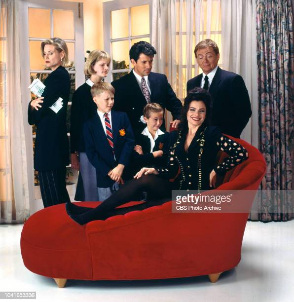 The Nanny a CBS television situation comedy Premiere episode aired November 3 1993 The cast left to right Lauren Lane Maxwells business partner...