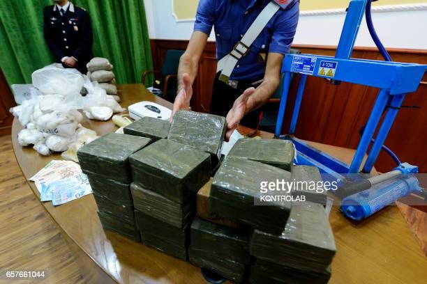 The Naples Police operation seizure9 kilograms heroin 2 kilograms pure cocaine 28 kilograms hashish 2 kilograms marijuana 4 kilograms ecstasy pure