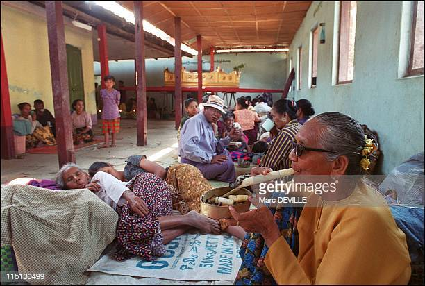 The Naq of Burma: profession medium in Myanmar in March, 2003 - Both clientele and disciples live with the medium in areas rented by the latter for...