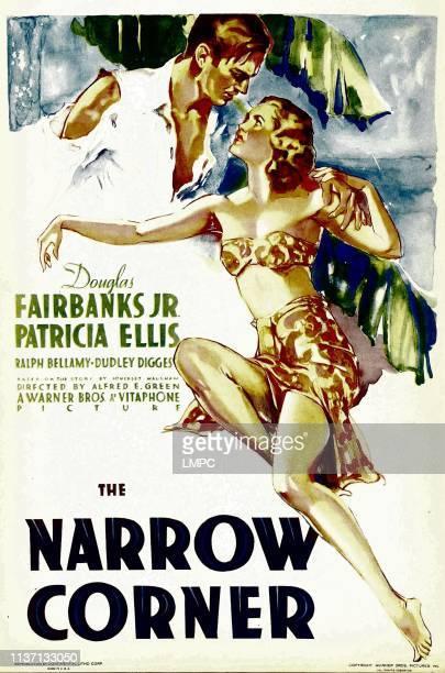 Douglas Fairbanks Jr Patricia Ellis on midget window card 1933