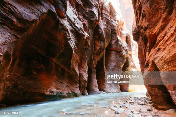 The Narrows, Zion Canyon National Park, USA