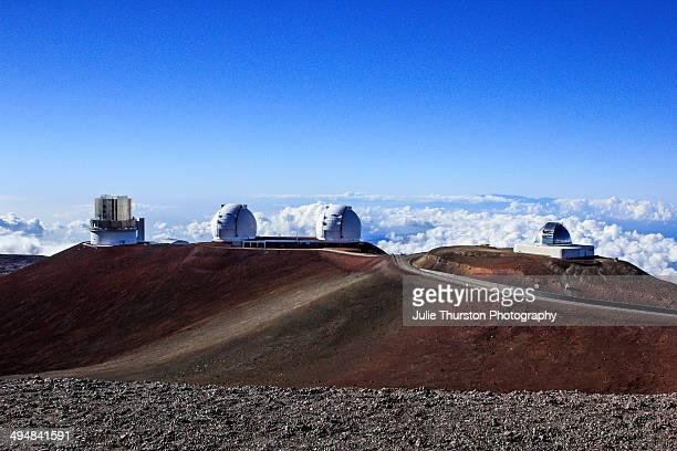 The NASA Infrared Telescope Facility Keck I Keck II and Subaru Telescopes at the Mauna Kea Observatories On the Big Island of Hawaii