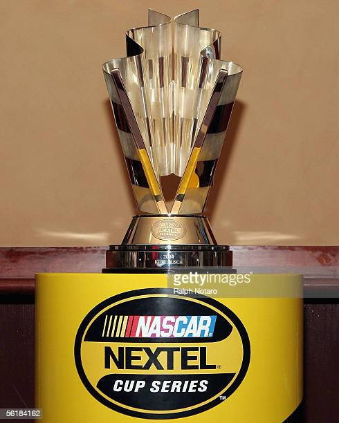 The NASCAR Nextel Championship Trophy is displayed during the Jeff Conine All Star Welcome to Ford Championship Weekend at Conine's Clubhouse Grill...
