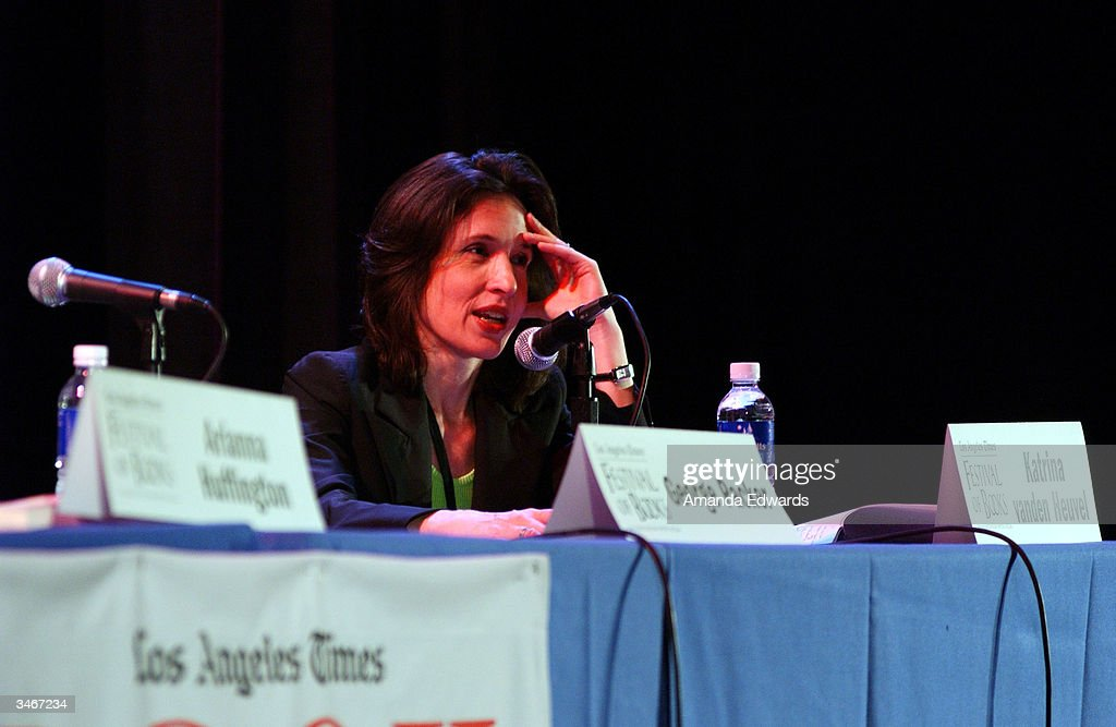 'The Nation' Editor, Katrina Vanden Heuvel participates in a panel discussion 'The Future of Dissent' at the 9th Annual LA Times Festival of Books on April 25, 2004 at UCLA in Westwood, California.