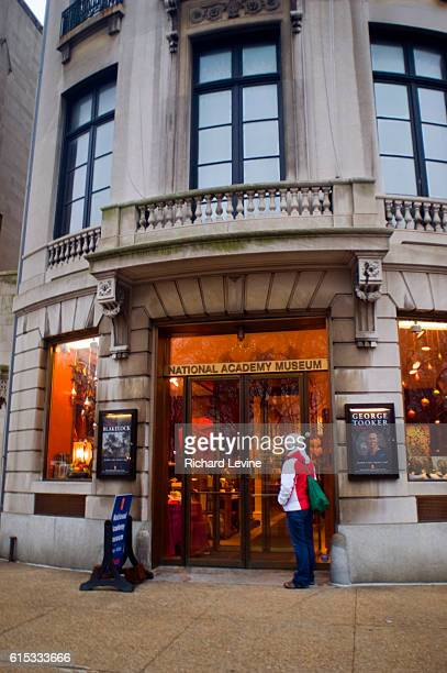 The National Academy Museum of the National Academy of Art on Fifth Avenue in New York on Saturday, December 27, 2008. The non-profit National...