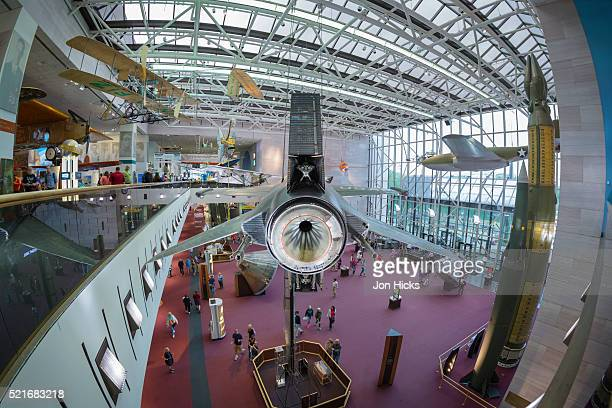 the national air and space museum, washington, dc. - smithsonian institution stock pictures, royalty-free photos & images