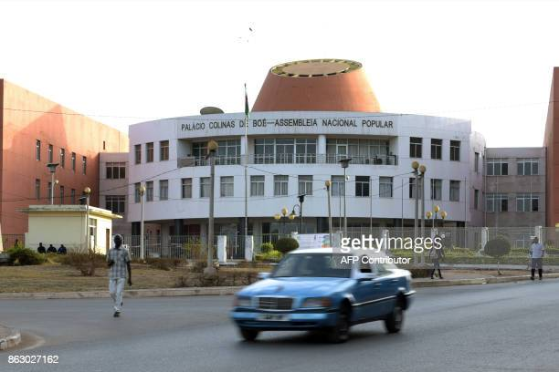 The National Assembly of GuineaBissau is pictured on May 9 in Bissau Clashes broke out on October 18 at the ruling party in GuineaBissau between...
