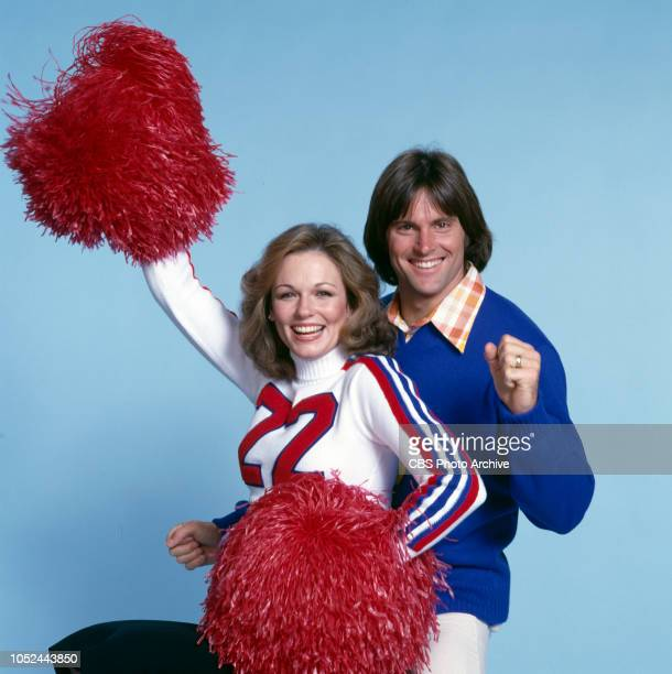 The National Collegiate Cheerleading Championships television special broadcast Monday April 24 1978 Los Angeles CA Pictured from left is Phyllis...