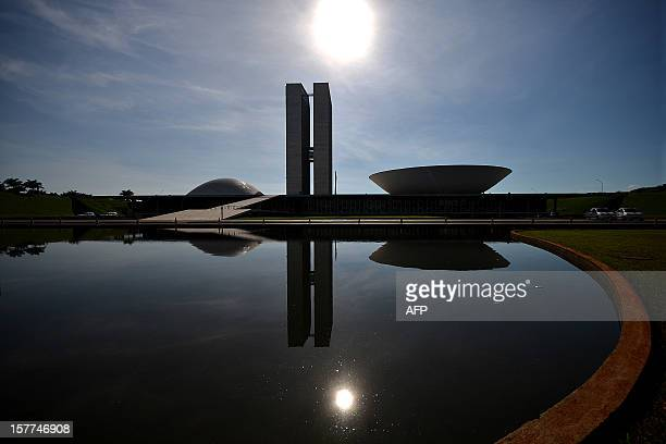 The National Congress building in Brasilia one of the works of architect Oscar Niemeyer who died yesterday at 104 on December 6 2012 Niemeyer the...