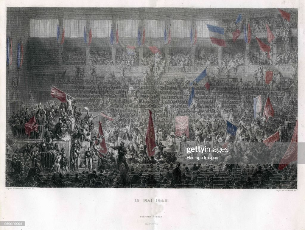The National Constituent Assembly Of 15 May 1848 : News Photo
