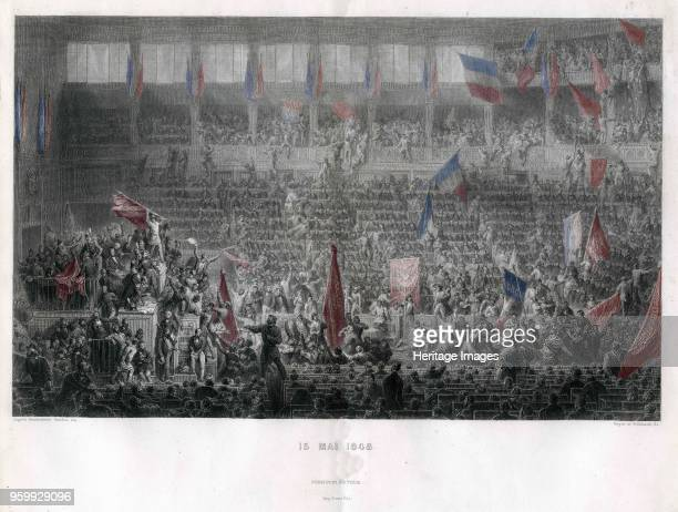 The National Constituent Assembly of 15 May 1848 1848 Private Collection
