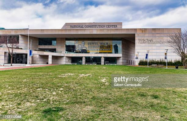 The National Constitution Center is closed to the public due to the coronavirus outbreak on March 17, 2020 in Philadelphia, Pennsylvania. The tourism...