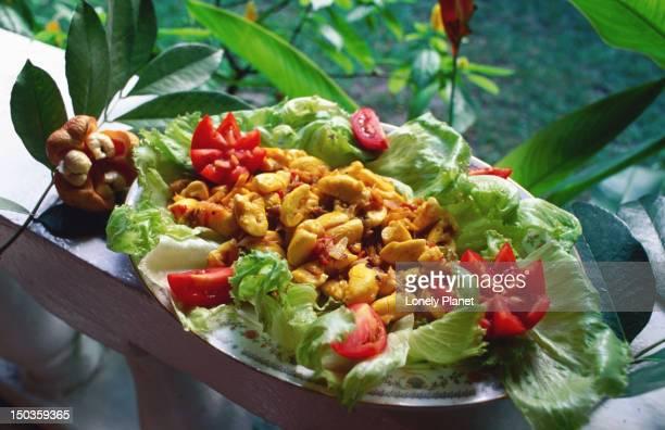 The National dish - Ackee and Sawash.