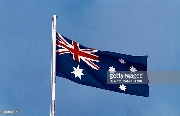 The national flag Australia