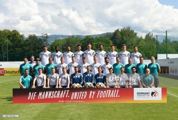 The national football team of Germany Sebastian Rudy Marco Reus Timo Werner Kevin Trapp Manuel Neuer MarcAndre Ter Stegen Mesut Oezil Joshua Kimmich...