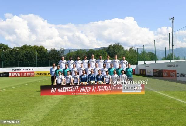 The national football team of Germany Sebastian Rudy Marco Reus Timo Werner Kevin Trapp Manuel Neuer MarcAndre Ter Stegen Mesut Ozil Joshua Kimmich...