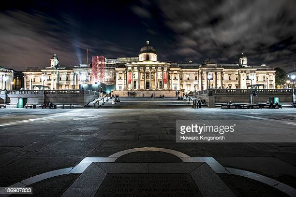 The National Gallery and Trafalgar Sq