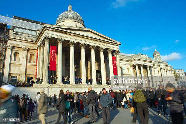 the national gallery, london - national portrait gallery london stock pictures, royalty-free photos & images